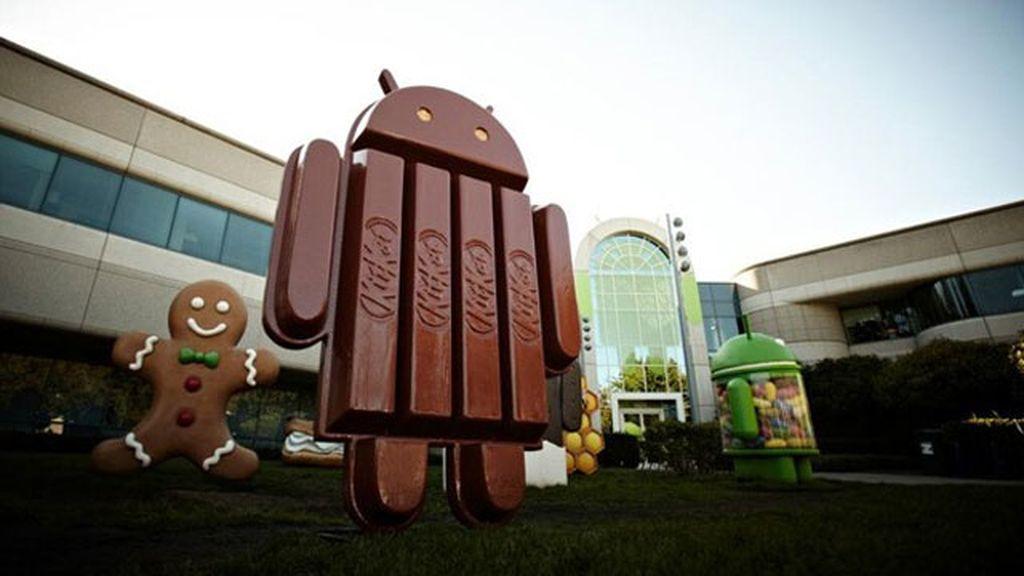 Kitkat, la nueva versión de Android
