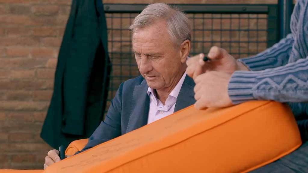 Johan Cruyff, gesto a gesto