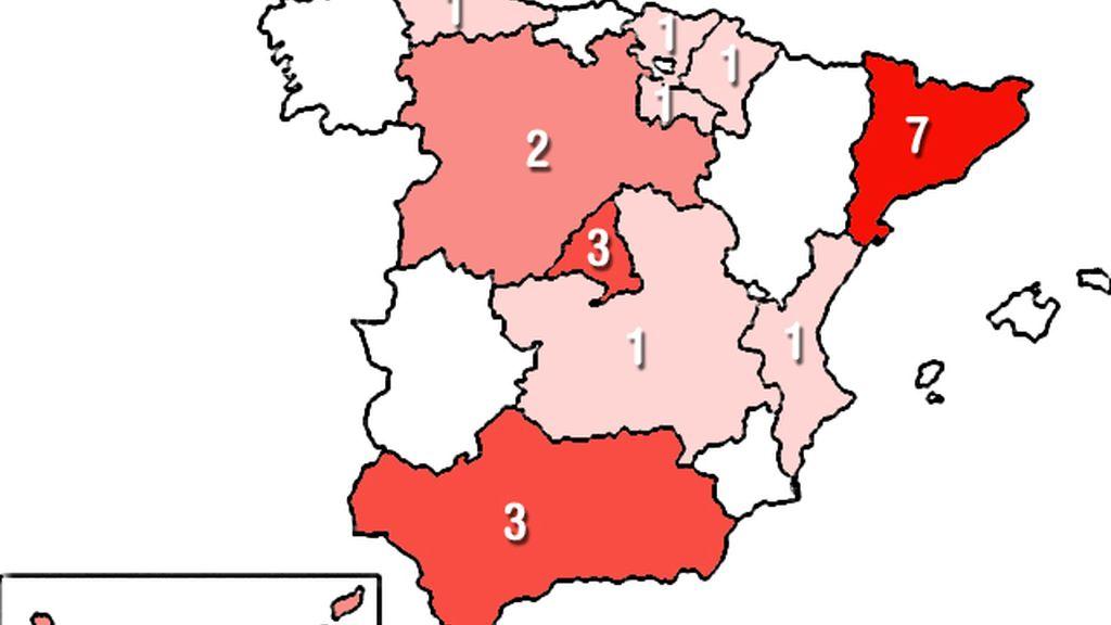 España Jugadores mundial
