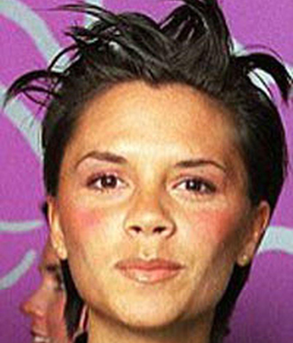 Vicky Beckham, cómo era y cómo es