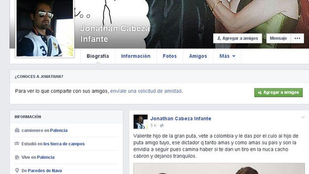 concejal del PP en Palencia, Jonathan Cabeza