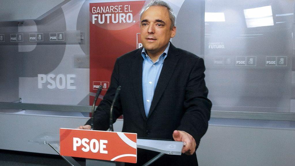 El socialista Rafael Simancas. Foto: Efe