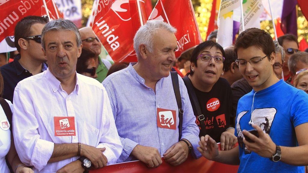 Cayo Lara, coordinador general de Izquierda Unida