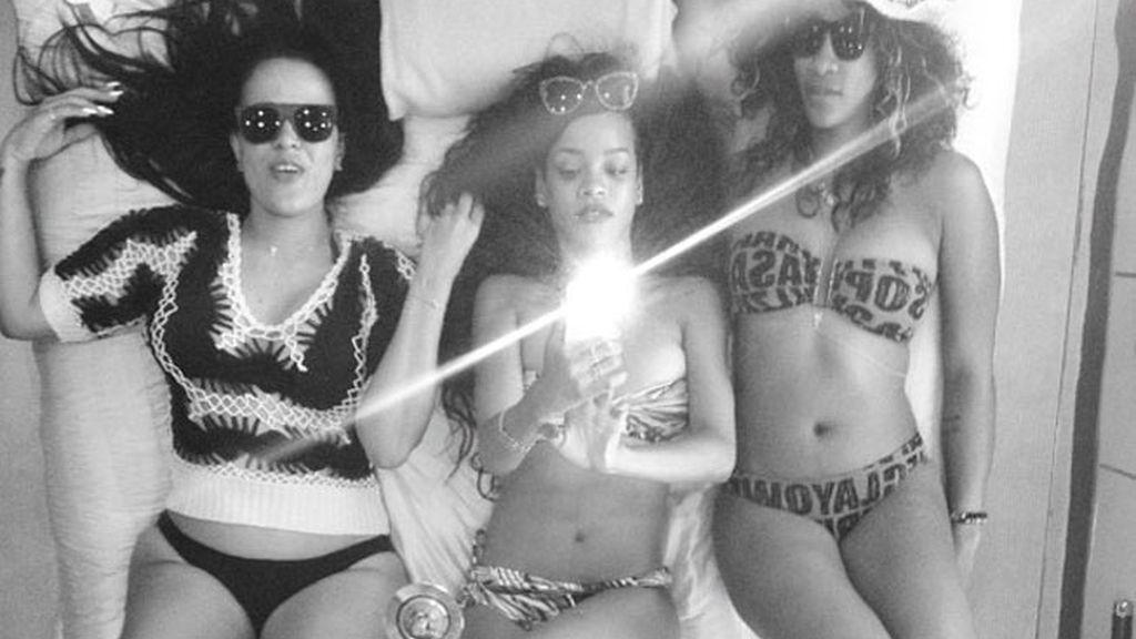 Rihanna se va de vacaciones