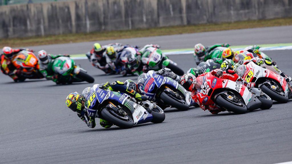 La carrera de MotoGP del Gran Premio Australia, al minuto