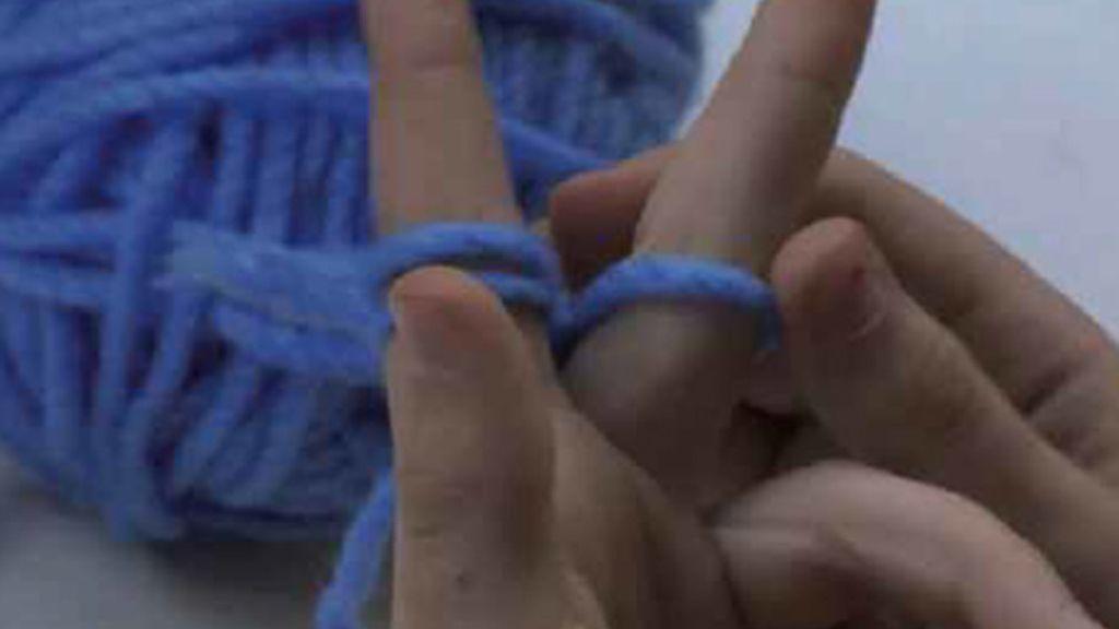 Capítulo 5 de Tricotosas: Tejer con los dedos