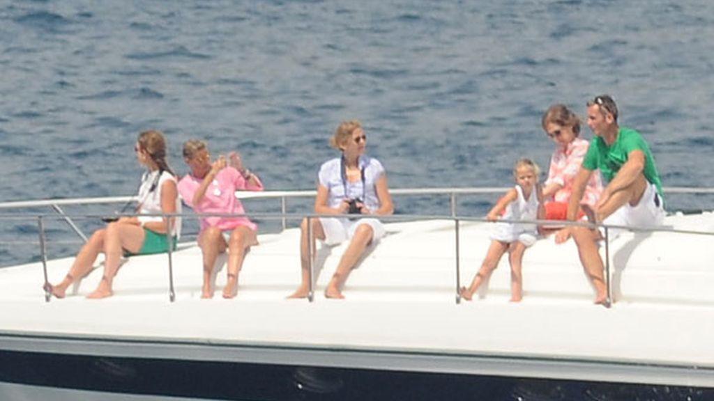 Los hijos de las infantas finalizan el curso de vela