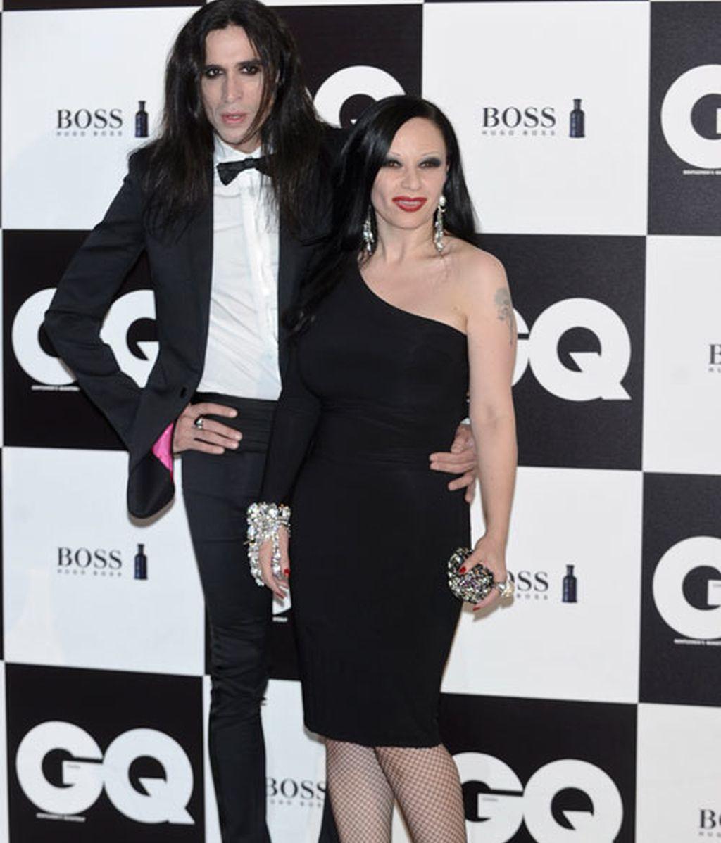 Berta Collado se come a tuits a Quim Gutiérrez en la gala GQ
