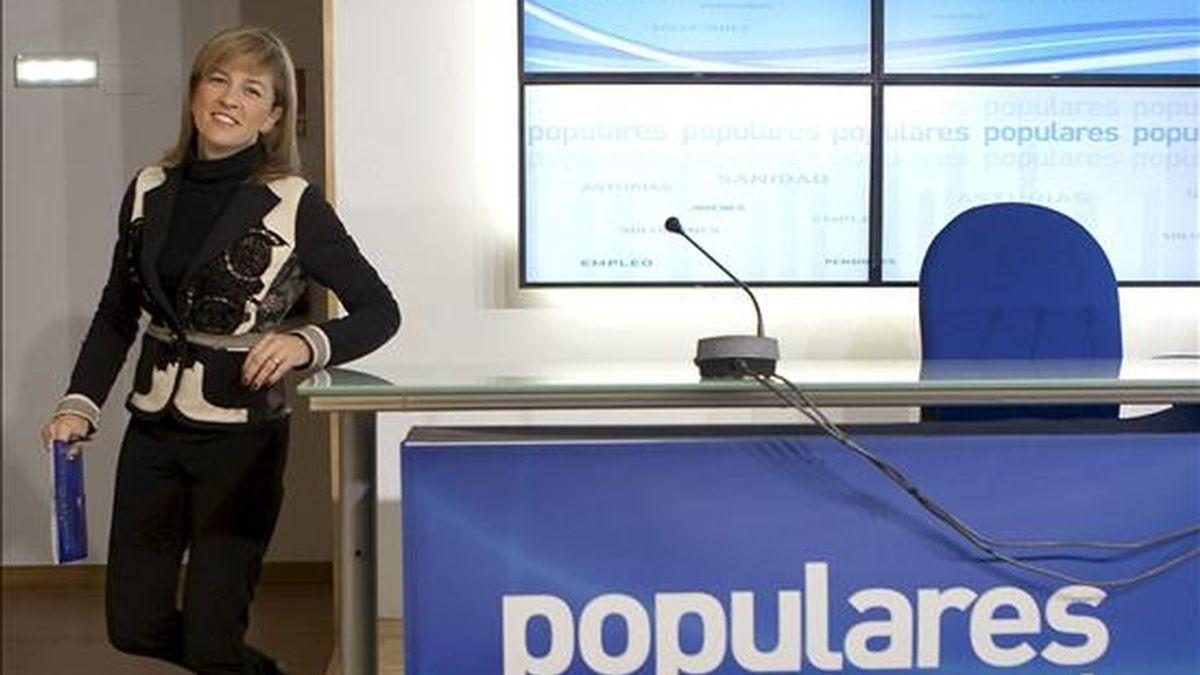 Isabel Pérez-Espinosa, candidata del PP para la presidencia del Principado de Asturias. EFE/Archivo