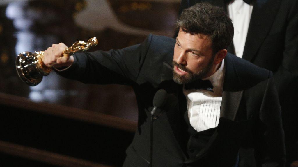 Ben Affleck recoge el premio a la mejor película