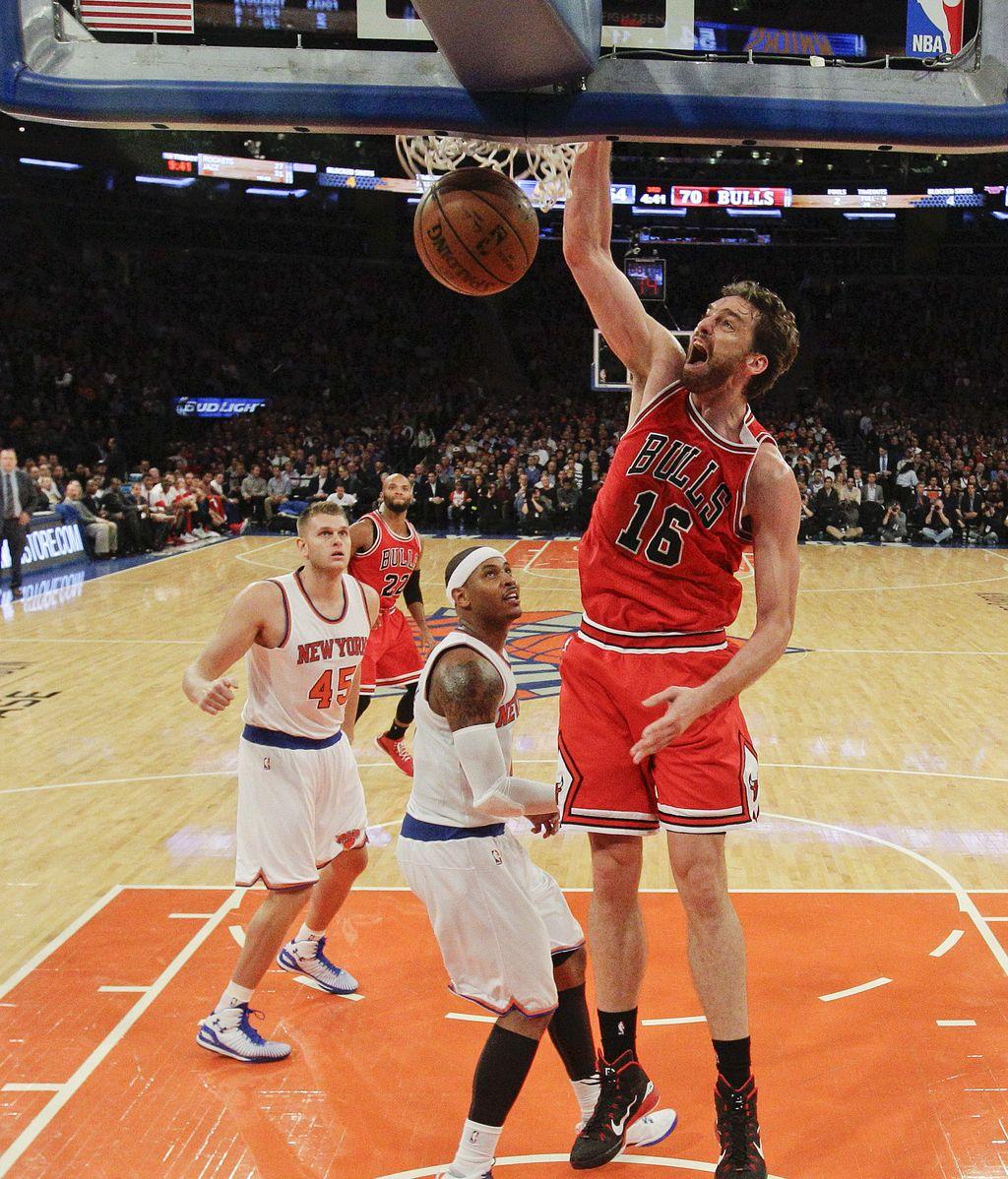 Pau Gasol debua con los Chicago Bulls