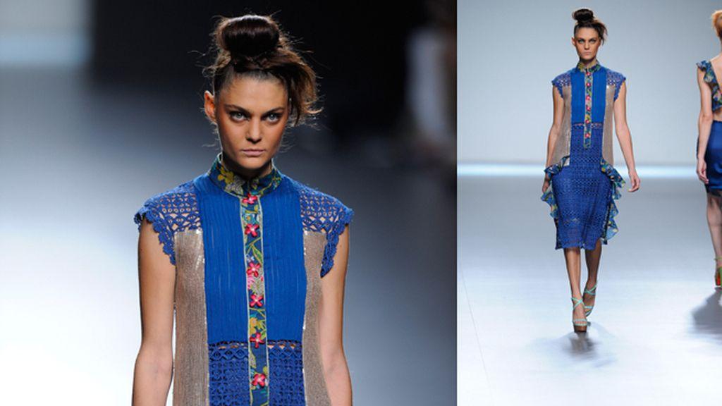 Vittorio&Lucchino, gasa, seda y raso de colores