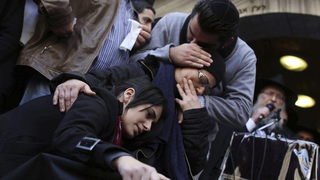 Funeral en Israel por las víctimas de Francia