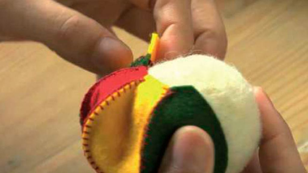 Tricotosas 14: abatanar/pelota de fieltro