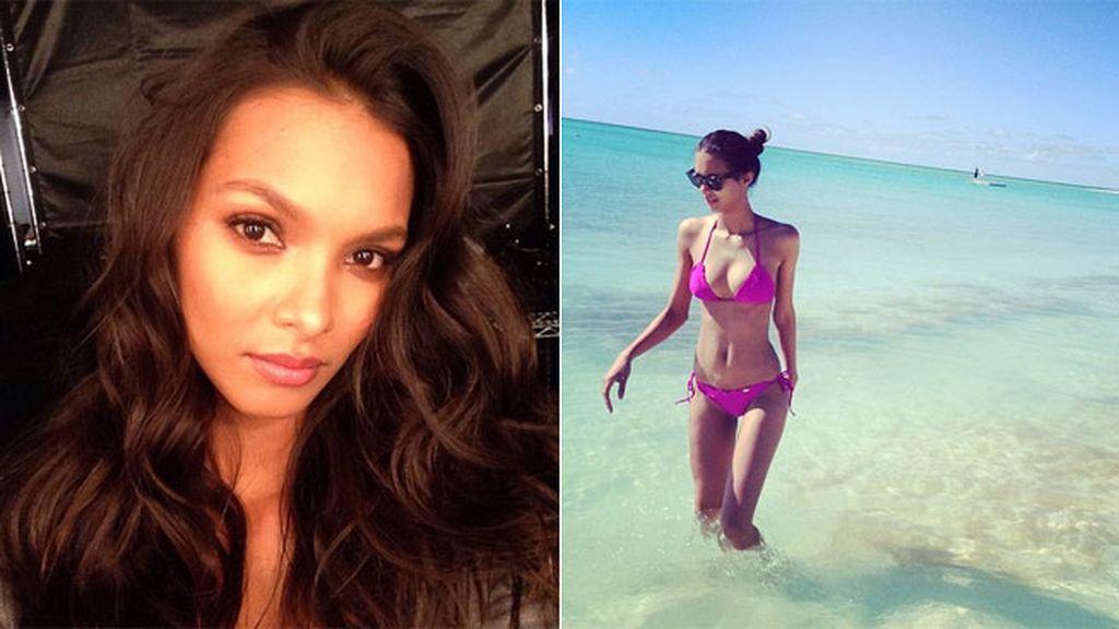 La modelo brasileña Lais Ribeiro es una de las veteranas de Victoria's Secret