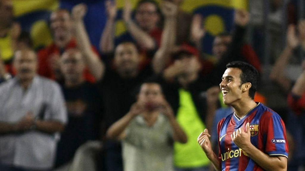 Pedro marcó los dos goles