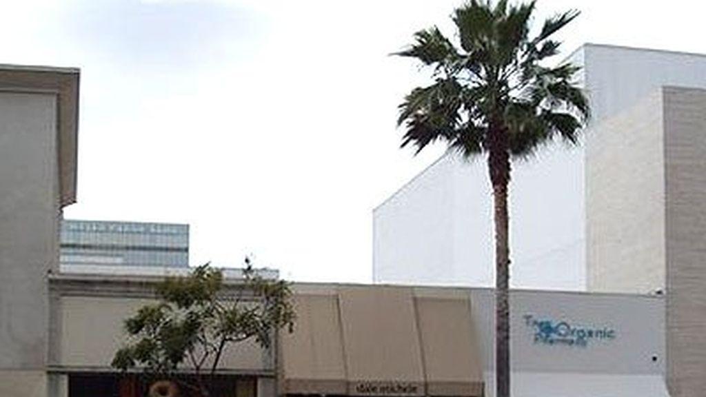 La tienda de Sara en Beverly Hills
