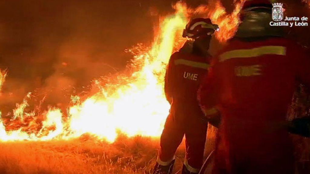 Incendio en Zamora