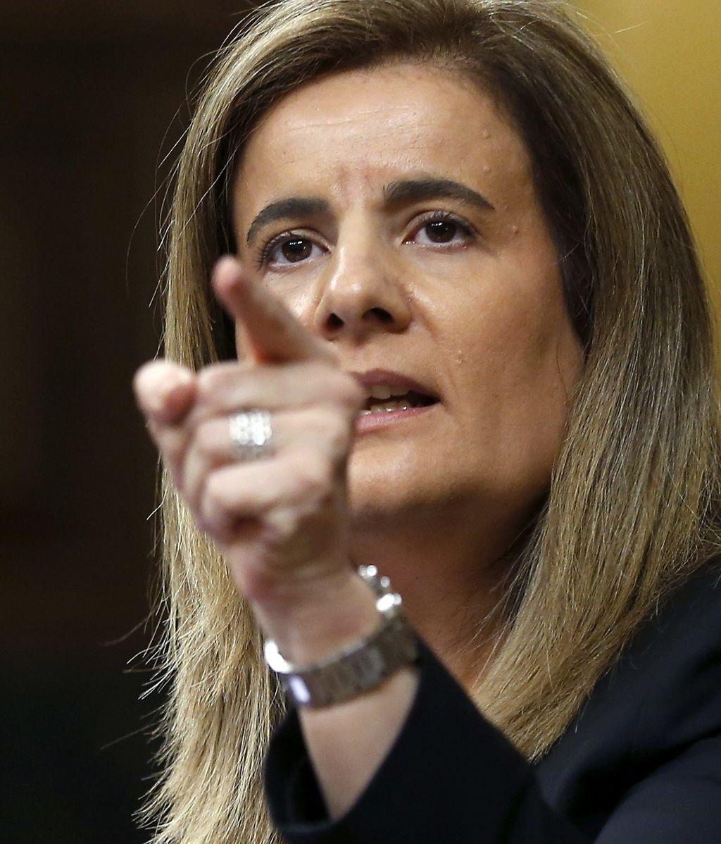 La ministra de Empleo, Fátima Báñez,