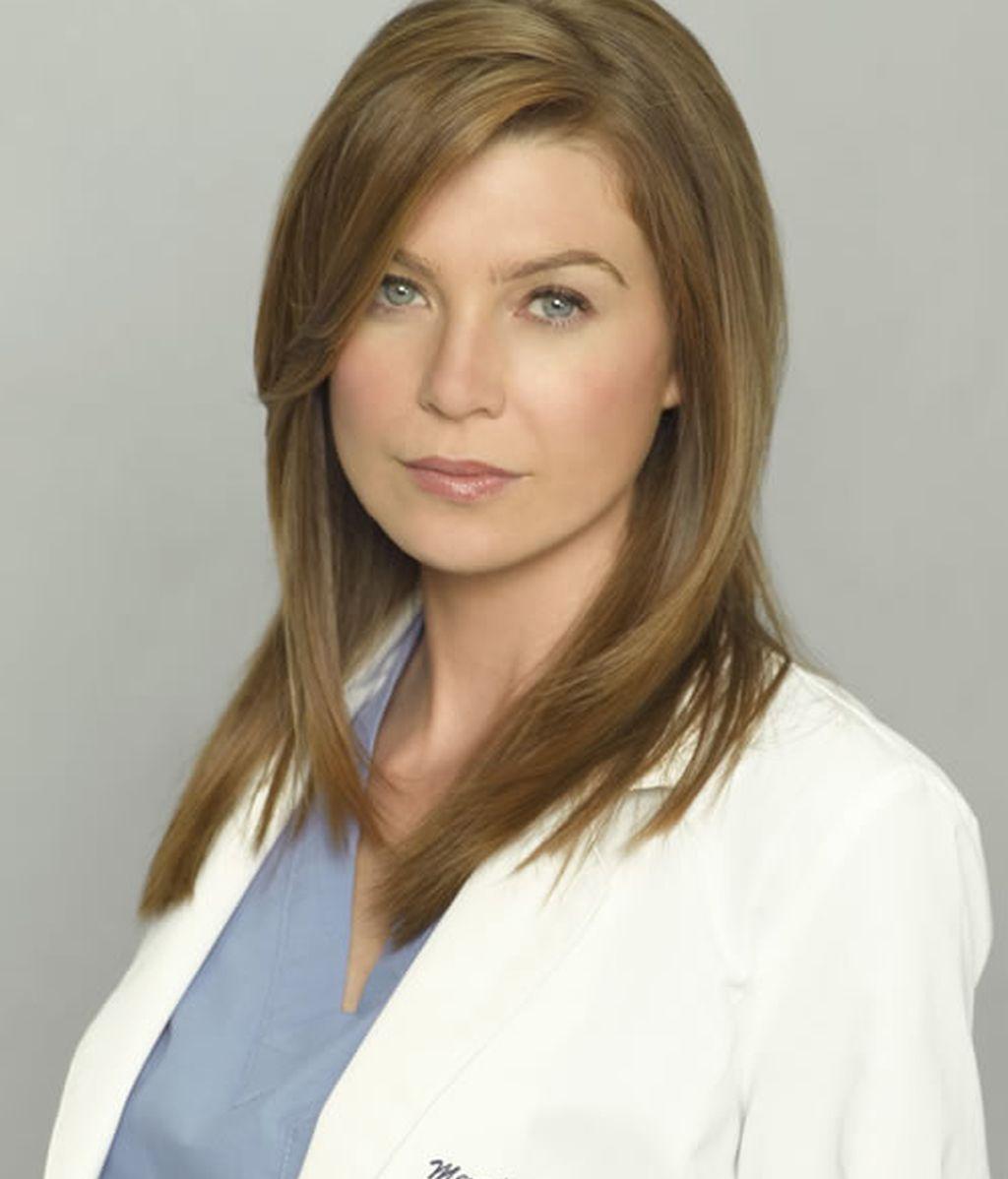 Ellen Pompeo. Meredith Grey en Anatomía de Grey
