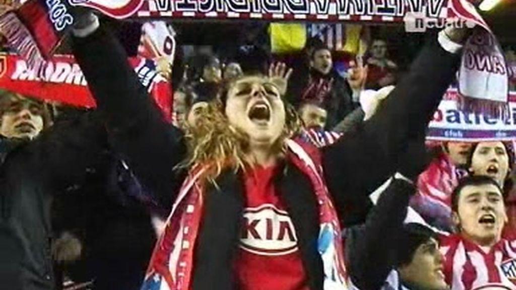 El Atlético ilusiona a su afición
