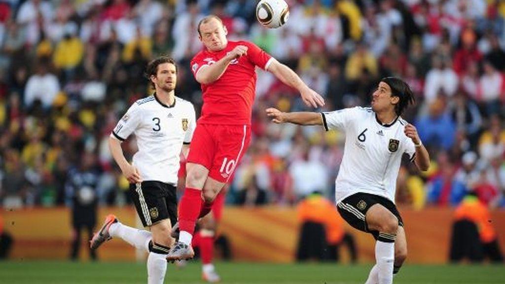 Alemania-Inglaterra ¡Partidazo!