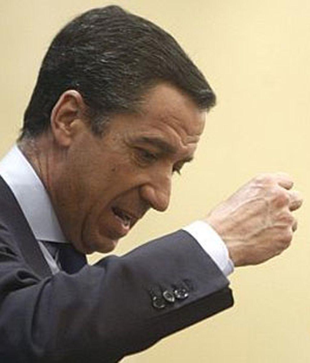 Eduardo Zaplana no estará en Valencia. Foto: archivo EFE