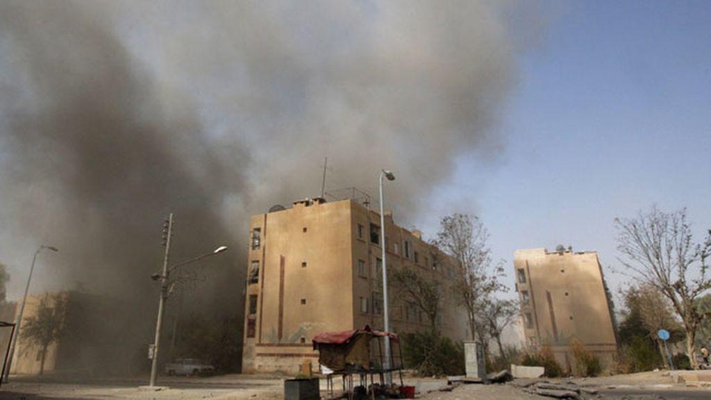 Siria bombardeo Al Assad