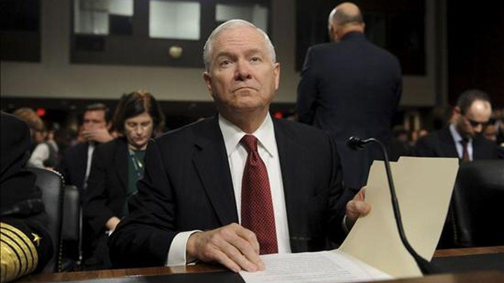 En la imagen, el secretario de Defensa de Estados Unidos, Robert Gates. EFE/Archivo