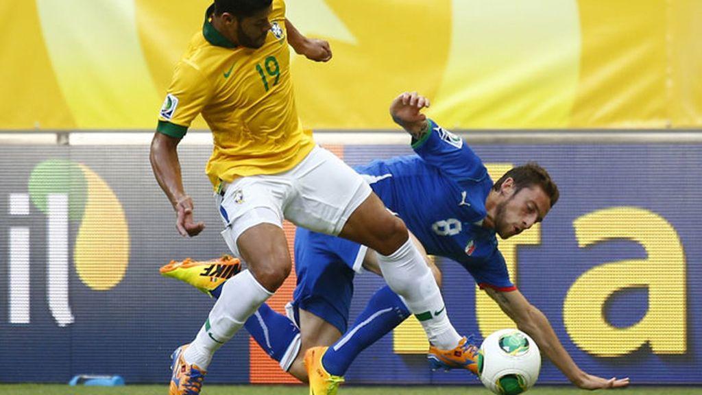 Hulk, de los mejores en la presión de Brasil