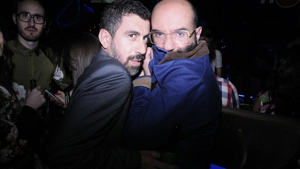 """Piti Alonso y Paco Delgado, listos para el cabaret de """"The Hole"""""""