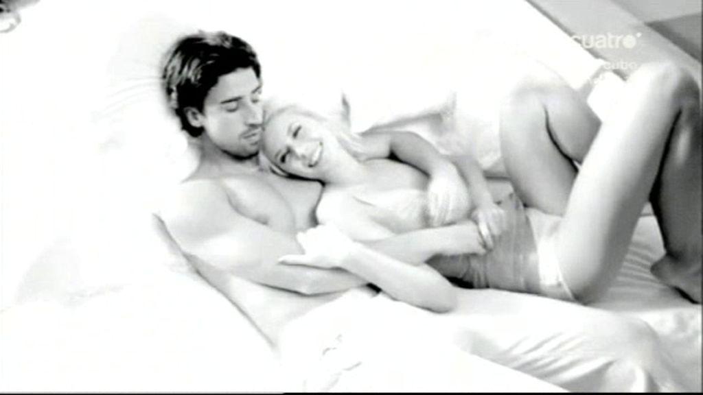 Sami Khedira, muy sensual con su novia Lena Gercke