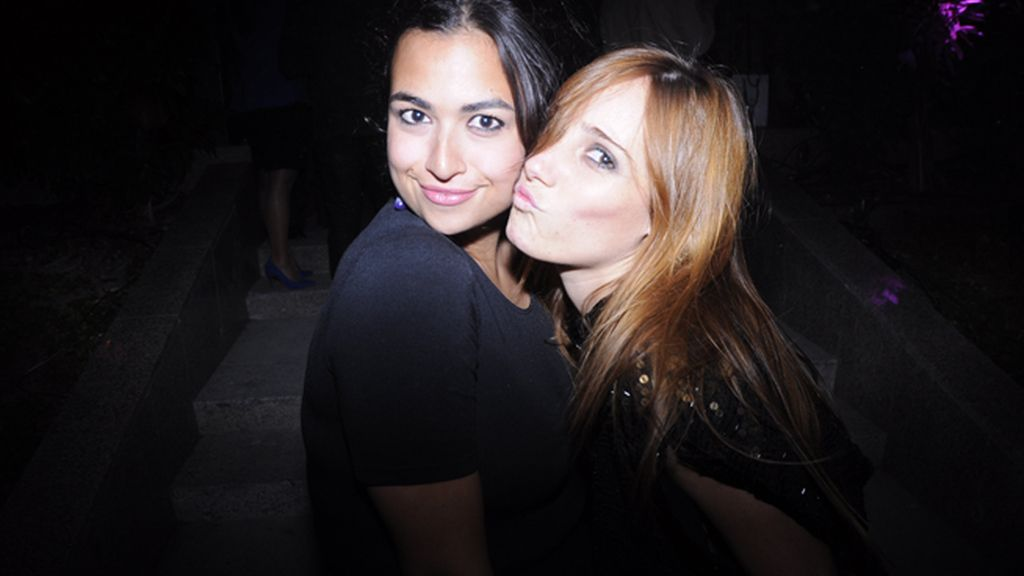 Yasmina y la fotografa Mara Cozar