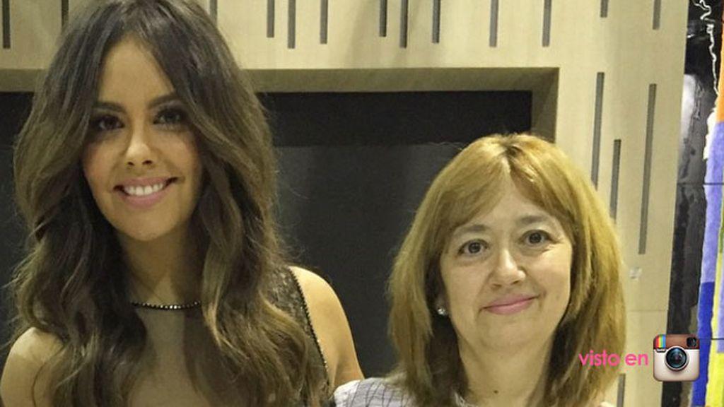 Cristina Pedroche agradece a su madre su amor, su comprensión... y sus 'tupper'