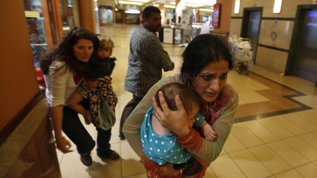Asalto a un centro comercial de Nairobi