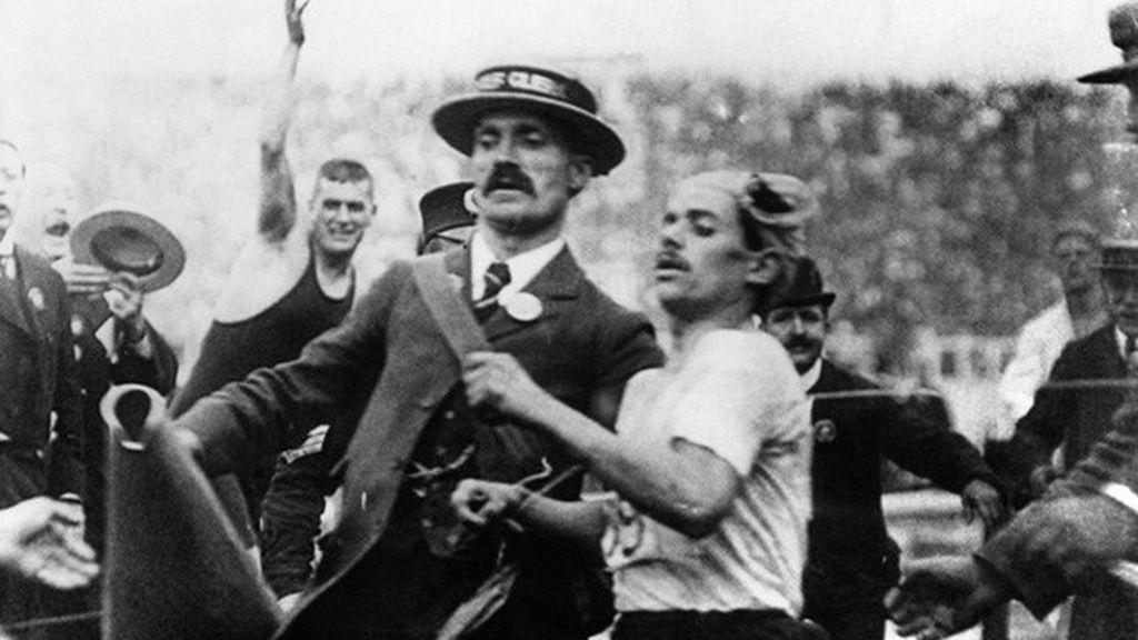 Dorando Pietri, Londres 1908, maratón