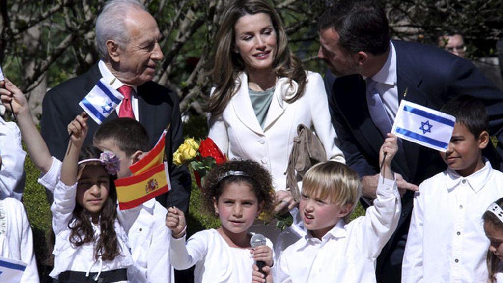 Con Simón Peres