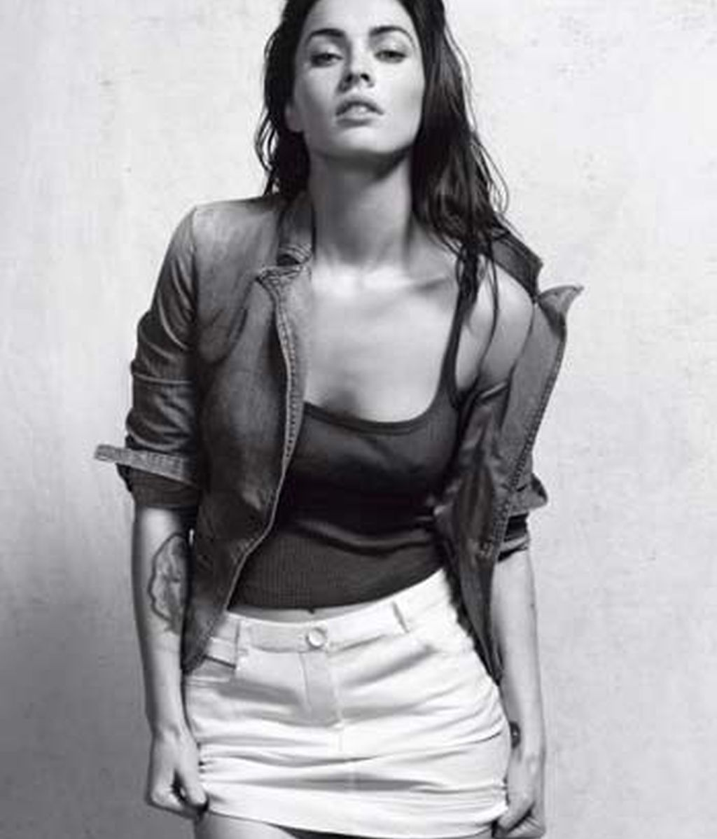 La actriz Megan Fox, más sexy que nunca, para Giorgio Armani