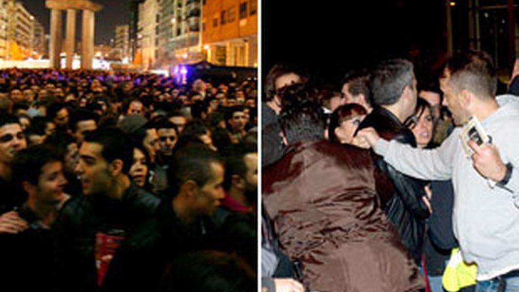 Miles de fans se quedan sin ver a Lady Gaga. Vídeo: Informativos Telecinco.