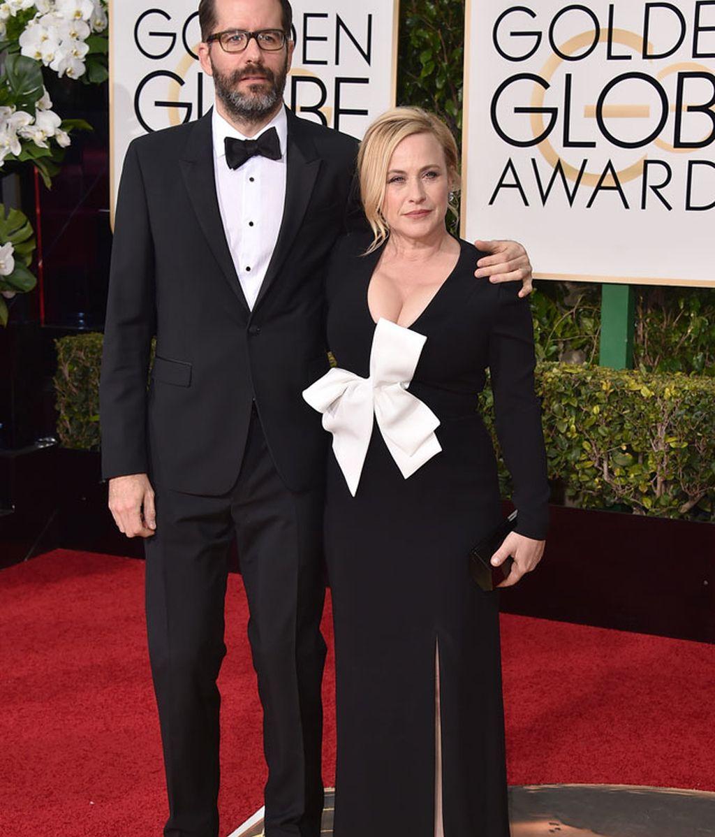 Patricia Arquette junto a Eric White