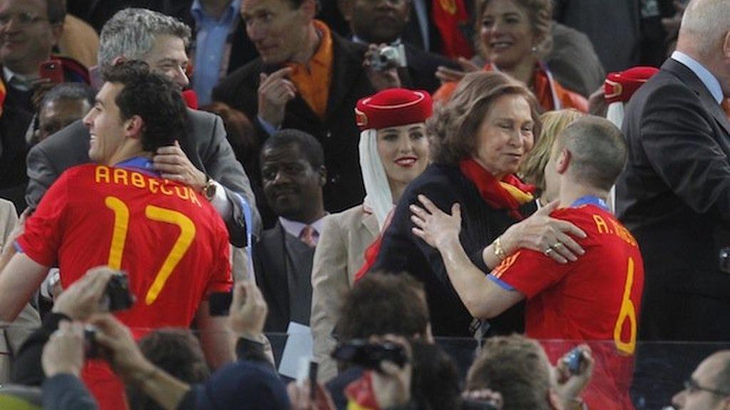 Celebrities, sonrisas y lágrimas en Johannesburgo