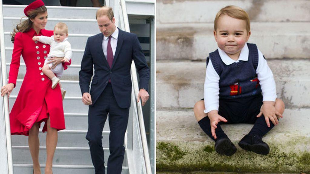 El pequeño Jorge ya ejerce como Príncipe de Inglaterra
