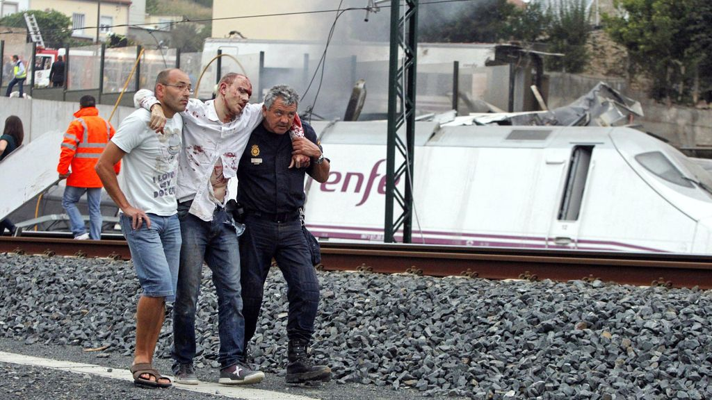 Tragedia ferroviaria en Santiago
