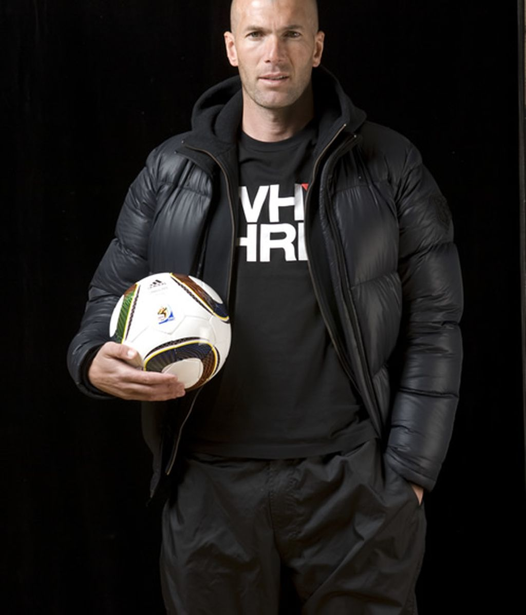 Zidane, padrino de Cracks