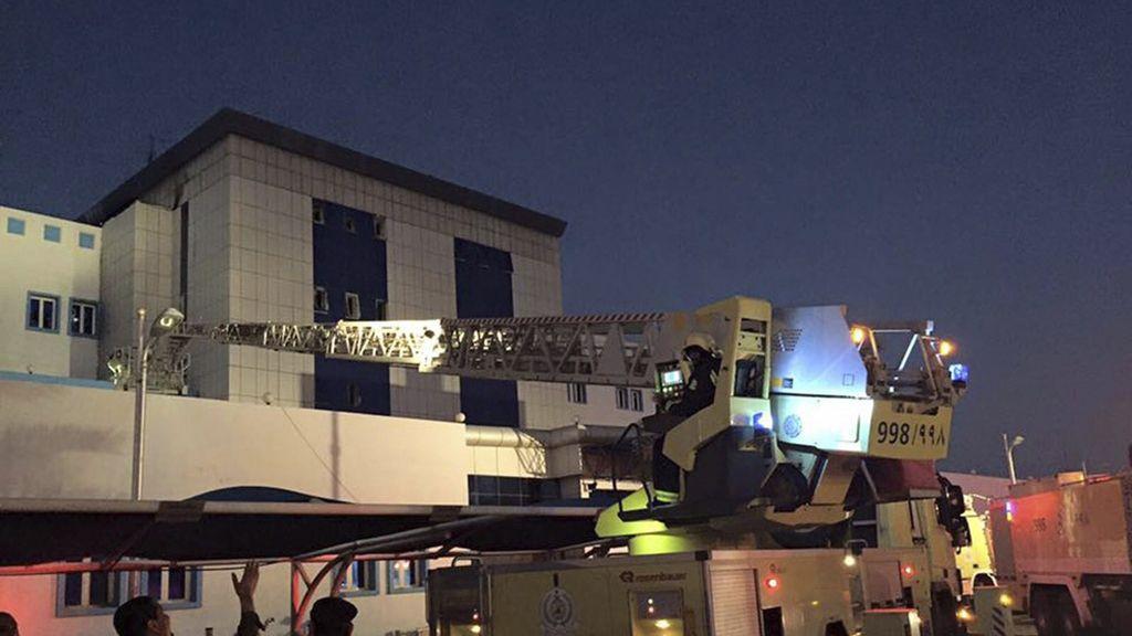Veinticinco muertos en un incendio registrado en un hospital en Arabia Saudí
