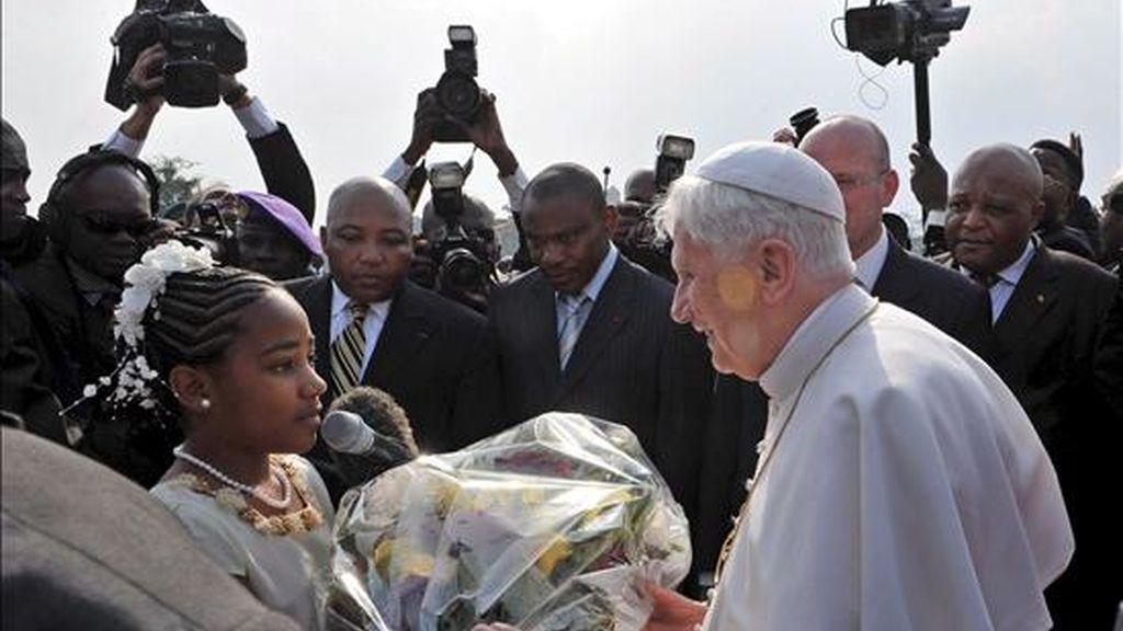 Es la primera vez que un pontífice utiliza esa palabra en público. Vídeo: ATLAS