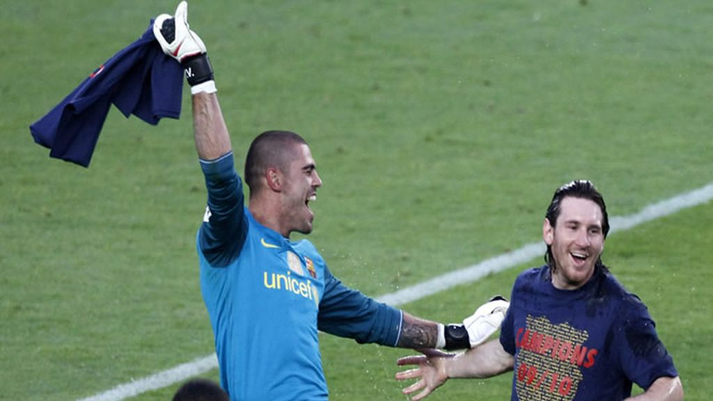Valdés y Messi