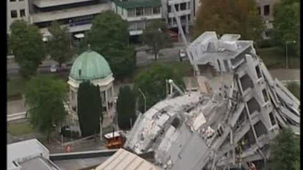 Devastador terremoto en Nueva Zelanda