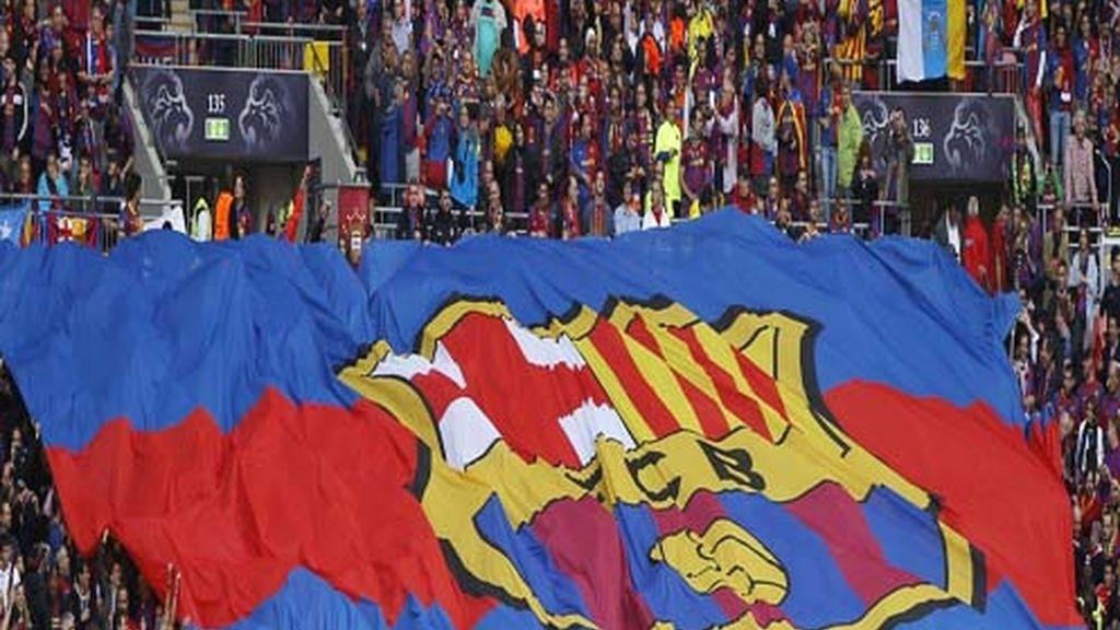Banderón del Barcelona