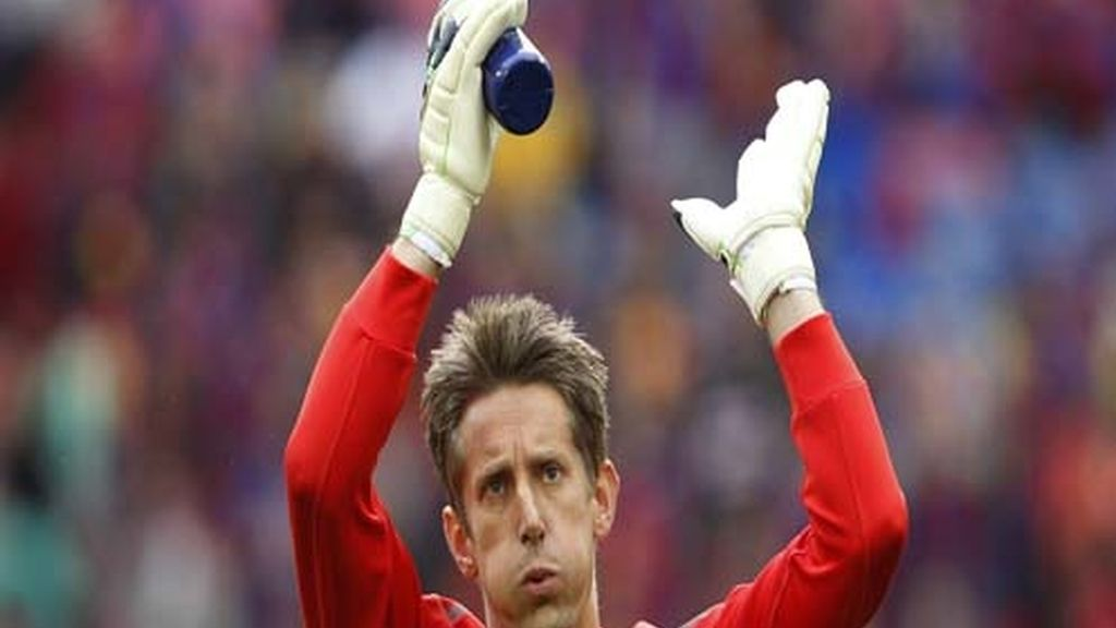 Van der Sar, portero insignia del Manchester